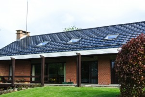 Subsidie op dakpan zonnepanelen
