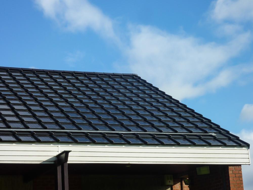 Dakpannen Met Zonnepanelen : Zonnepanelen als dakpan dakpan zonnepanelen